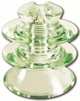 Внешний вид стеклянного штыревого изолятора ШТИЗ-20