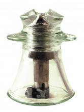 Фото стеклянного изолятора ШТИЗ-10Г, вид сбоку